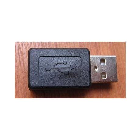 Adapter microUSB to USB A pistik