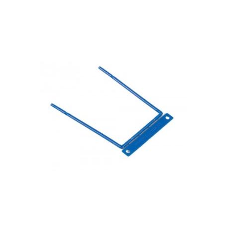 Arhiiviklamber BNT 80mm sinine metall*