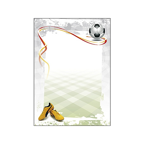 Diplom A4/170g Jalgpall (Football)