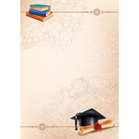 Diplom A4/170g koolilõpp (Biret N)