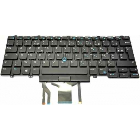 Klaviatuur Dell E5470, E7470 EST valguse