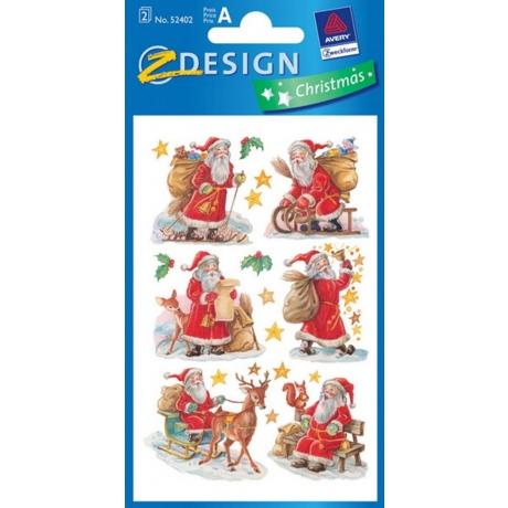 Kleeppildid Z-Design sät.Jõuluvana