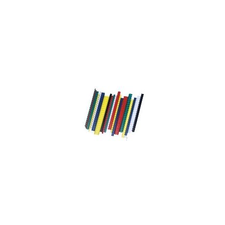 Köitespiraal Fellowes 19mm 100tk valge