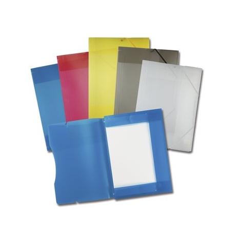 Kummiga mapp A3 plastik erinevad värvid