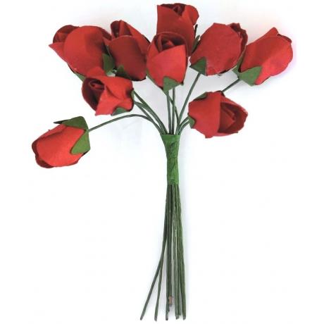 Paberlilled 10tk/pk tulbid punased