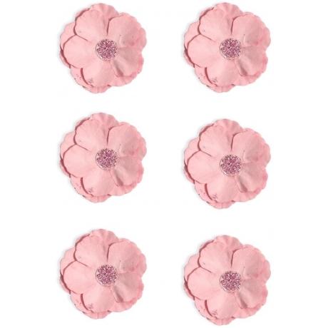 Paberlilled 6tk/pk iseliimuvad roosa