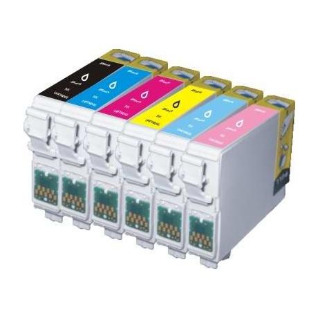 Tint Epson T0802 RX560 Cyan asendus