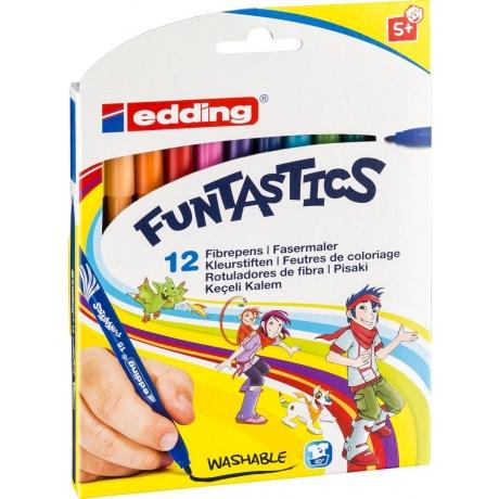 Viltpliiatsid Edding Funtastics 12 värv*