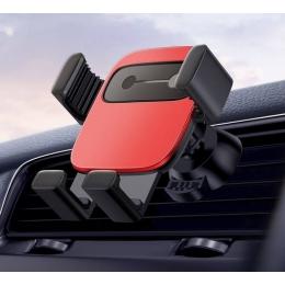Nutitelefoni autohoidik Baseus Cube Gravity RED ventilaatori avale