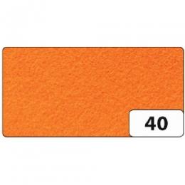 Käsitöövilt 20x30cm 1mm 10L oranz