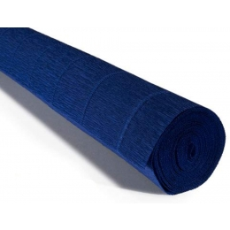 Krepp-paber 50cmx2,5m 180g Midnight Blue