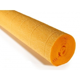 Krepp-paber 50cmx2,5m 180g Yellow