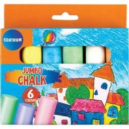 Asfaldikriit Centrum 6tk/pk värviline