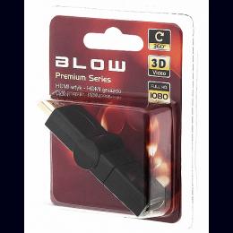 Adapter HDMI pesa-HDMI pistik pööratav