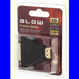 Adapter HDMI pistik DVI pesa