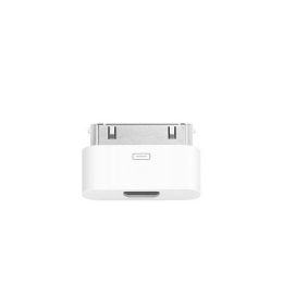 Adapter iPhone4/iPad to microUSB valge