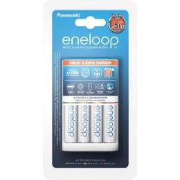 Akulaadija Eneloop +4xAA 1900mAh