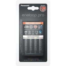 Akulaadija Eneloop Pro 2h+4xAA 2500mAh