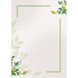 Diplom A4/170g Rohelised oksad (Green)