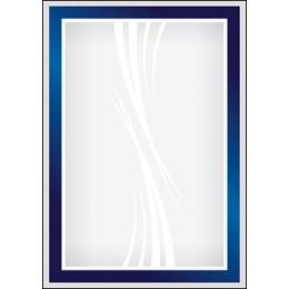 Diplom A4/170g Sinine ristkülik (Kobalt)