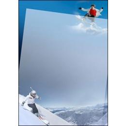 Diplom A4/170g Suusatajad (Ski)*