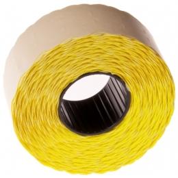Hinnapüstoli etikett  Blitz, Meto üherealine 26x12 kollane