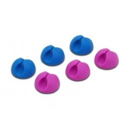 Kaablihoidja lauale 6TK pink+blue