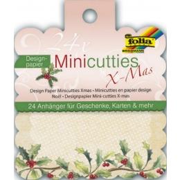 Kaardi disainpaber MiniCutties XMAS 24tk