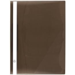 Kiirköitja A4 läbipaistev esikaas pruun
