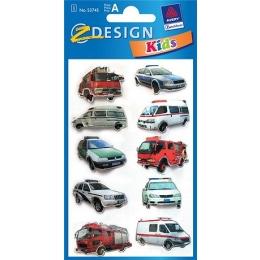 Kleeppildid Z-Design 3D Autod 112*