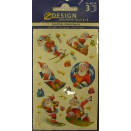 Kleeppildid Z-Design Jõuluvanad*