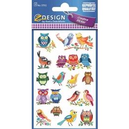 Kleeppildid Z-Design Linnud erinevad
