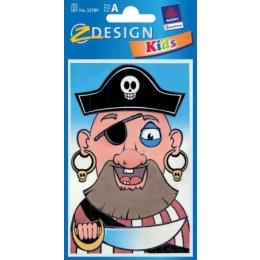 Kleeppildid Z-Design Piraat kruusile*