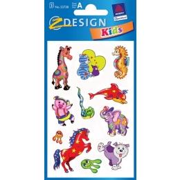Kleeppildid Z-Design Tsirkuseloomad