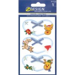 Kleeps pakile Z-Design Põhjapõder*