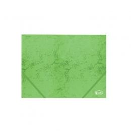 Kummiga mapp A4 4,5cm kartong roheline