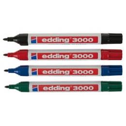 Marker Edding 1,5-3mm veekindel 4 värvi*