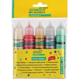 Marker pärlmutter 5x25ml 5 värvi