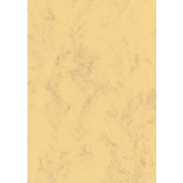 Paber marmor A4/90g 100L kollane/pruun*