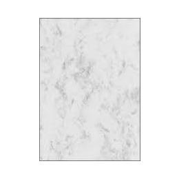 Paber marmor A4/90g 100L valge/hall*