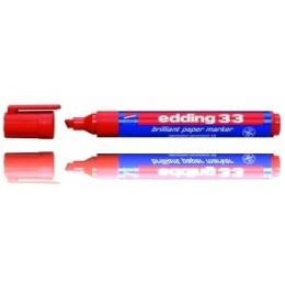 Paberimarker Edding 1-5mm punane lõig.o*