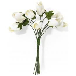 Paberlilled 10tk/pk tulbid valged