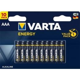 Patarei  AAA LR03 Varta Energy 10tk