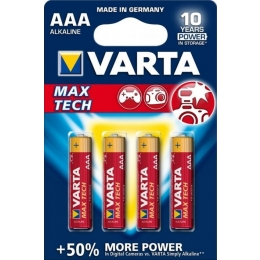 Patarei AAA LR03 Varta MaxTech 4tk*
