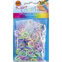 Rubber Loops 500tk/pk värvilised segupakk*