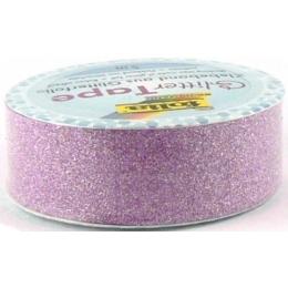 Glitter teip 5m rullis 15mm roosa