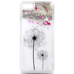 Tagakaitseümbris iPhone 7 Glitter Flower