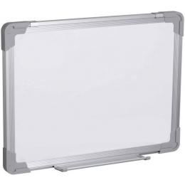 Tahvel valge 60x45cm magnetiline al.raam