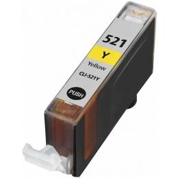 Tint Canon CLI-521Y kollane asendus
