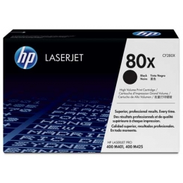 Tooner HP 80X CF280X 6900 lehte